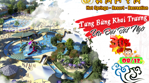 Chương trình khuyến mại khai trương Hamya hotsping and resort