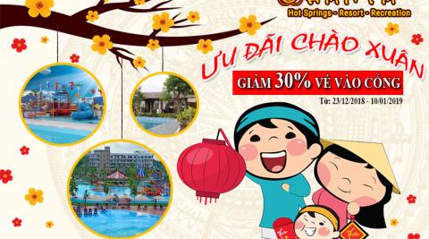 Hamya Resort ưu đãi khủng tết dương lịch 2019