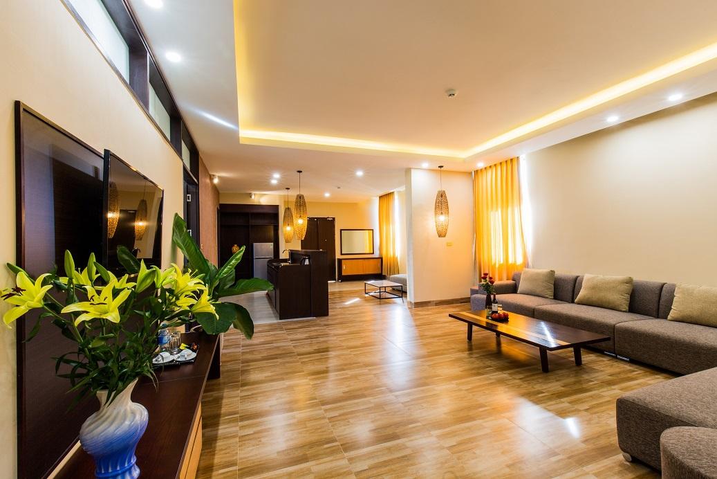 Không gian phòng Apartment tại Hamya